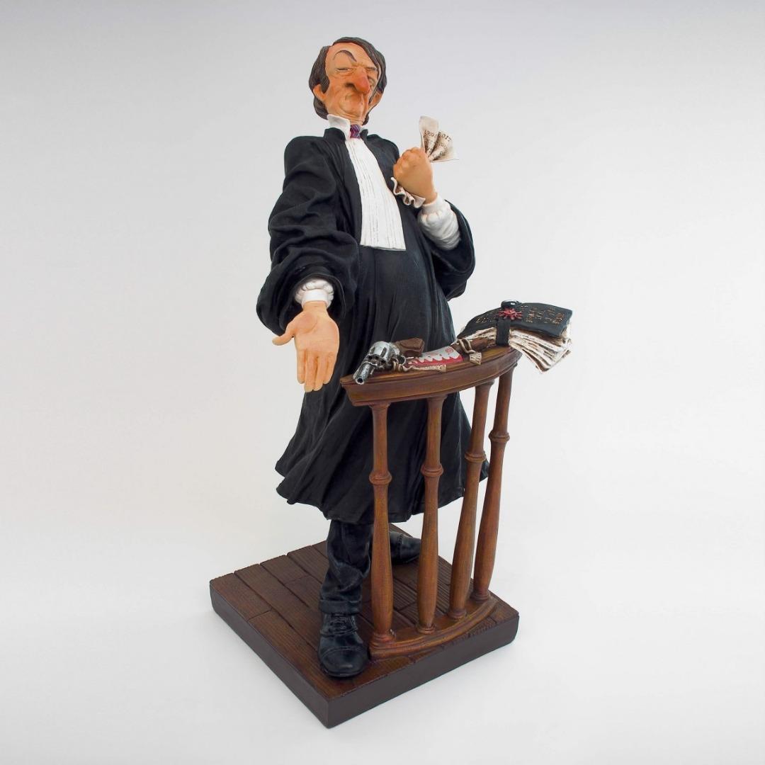 Figurine avocat